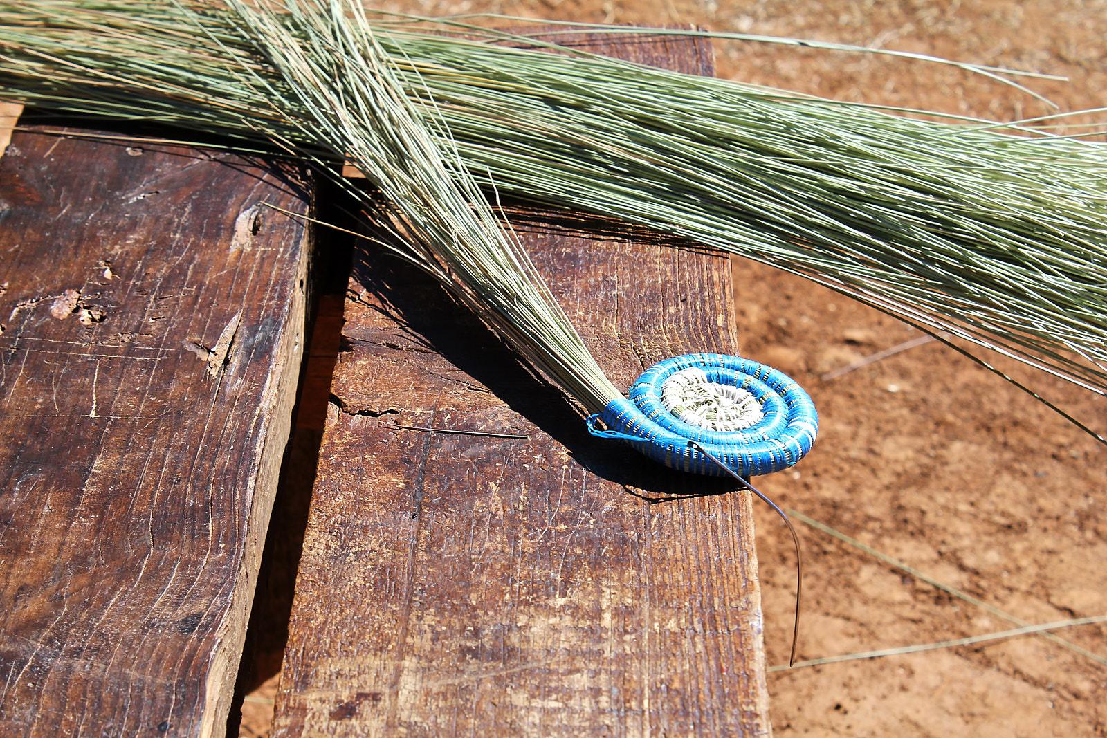 Dorfbesuch in Lesotho