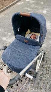 Minimalistische Babyausstattung