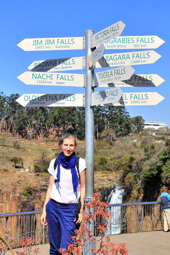 Weiterfahrt in die Drakensberge