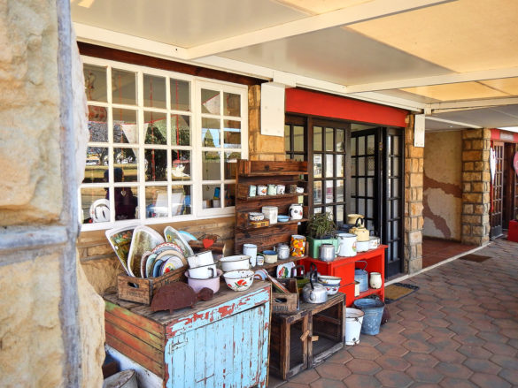 Fahrt nach Lesotho